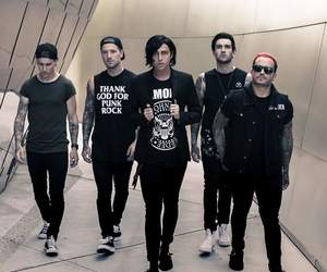 band, sleeping with sirens, and music image