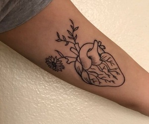 tattoo, heart, and art image