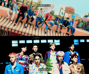 aesthetic, colorfull, and exo image