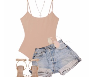 bodysuit, fashion, and jeans image