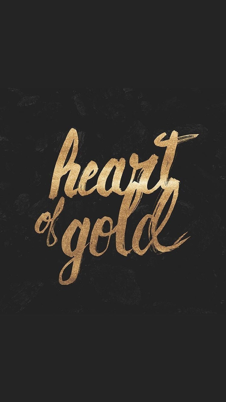 gold, heart, and quotes image