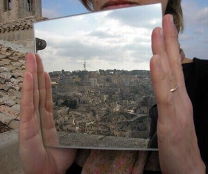 mirror, aesthetic, and city image