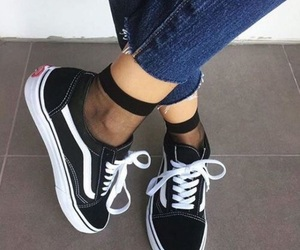 aesthetic, jeans, and vans image