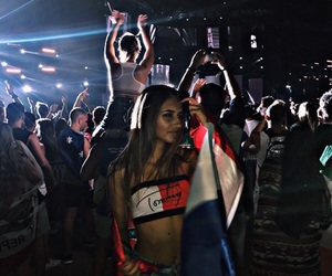 festival, fun, and tommy hilfiger image