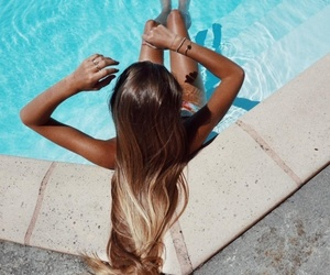 summer, beautiful, and girl image