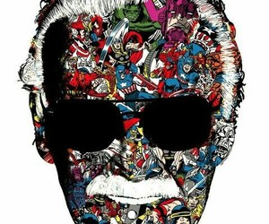 Marvel, Avengers, and stan lee image