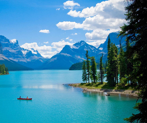 canada, beautiful, and lake image
