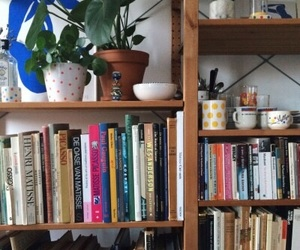 aesthetic, books, and room image