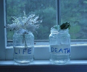 death, life, and tumblr image