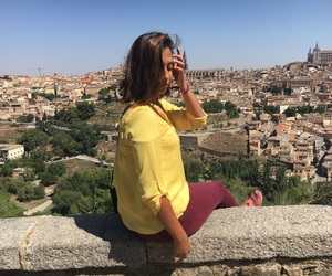 me, spain, and toledo image