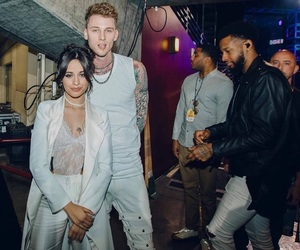 machine gun kelly and camila cabello image