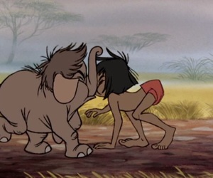 disney, elephant, and the jungle book image