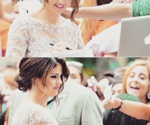 selena gomez, fans, and smile image