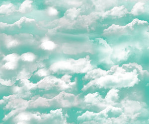 art, clouds, and color image