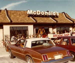 vintage, McDonalds, and car image