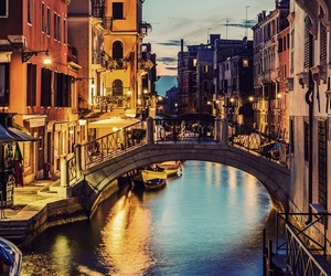 city, italy, and love image