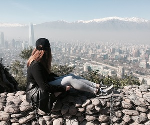 city, explore, and girl image