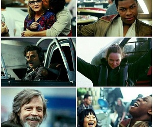 finn, starwars, and carriefisher image