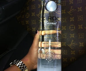 alcohol, ciroc, and vodka image