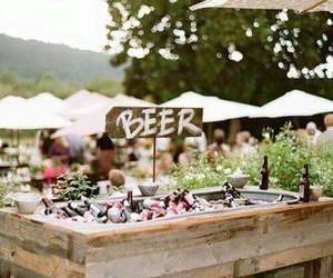 beer and wedding image