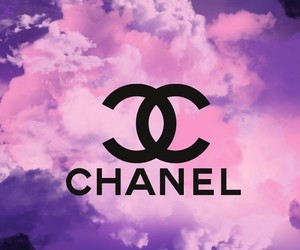 background, brand, and chanel image