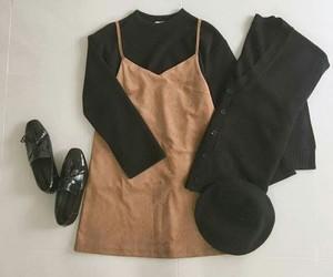 autumn, black, and cute image