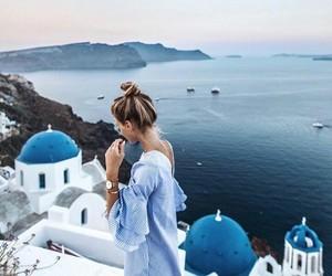 fashion, sea, and travel image