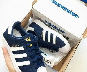 adidas and blue image