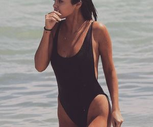selena gomez, beach, and selena image