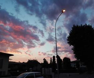 aesthetic, blue and pink, and colors image