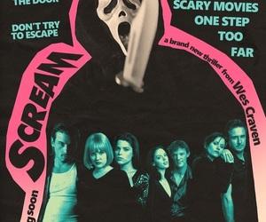 scream, 90s, and movie image