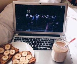 friends, food, and banana image