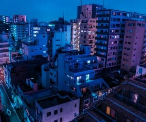 city, aesthetic, and purple image