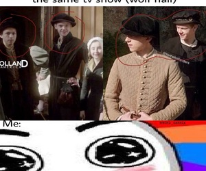 thomas brodie sangster, tom holland, and wolf hall image