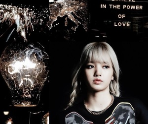 aesthetic, lalisamanobal, and black image