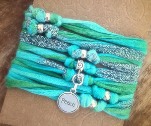 follow your heart, live your dream, and turquoise silver image