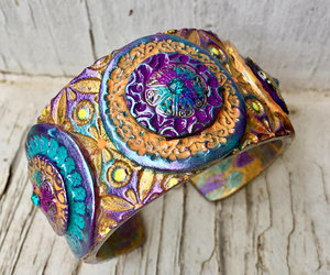 bohemian, colorful, and etsy image