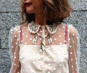 blouse, hair, and fashion image