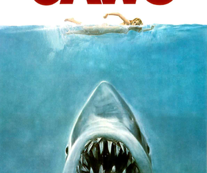 1975, jaws, and movie image