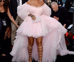 rihanna, dress, and valerian image