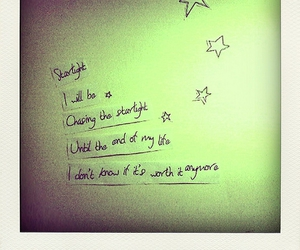 Lyrics, starlight, and text image