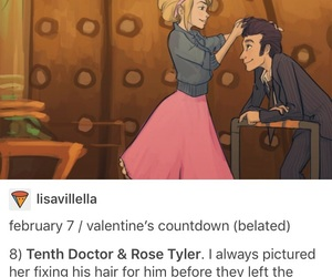 art, doctor who, and rose tyler image