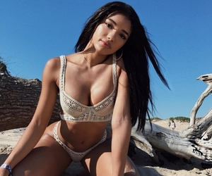 beach babes, dress, and site model image