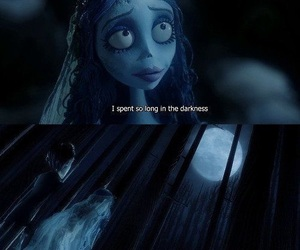 corpse bride, tim burton, and quotes image