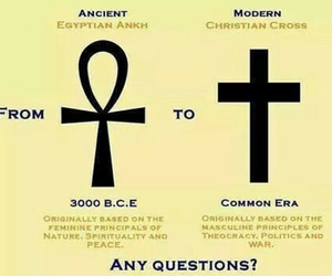 ancient, ankh, and egypt image