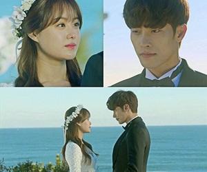 couple, k-drama, and song jieun image