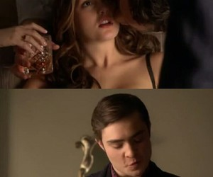 amor, chuck bass, and serie image