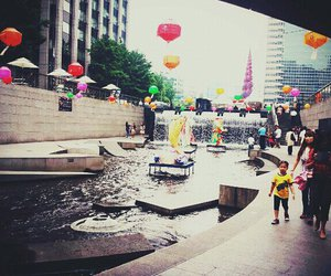 beautiful, korea, and place image