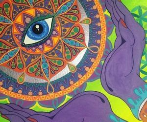 art, mandala, and sacred geometry image