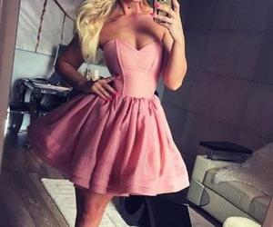 short prom dresses, cute homecoming dress, and a line homecoming dresses image